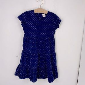 Hanna Andersson Tiered Polka Dot Cotton Dress